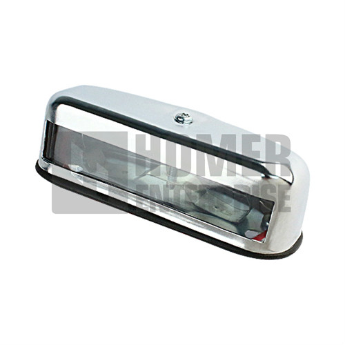 LONG CHROME NUMBER PLATE LAMP CLC-155-N